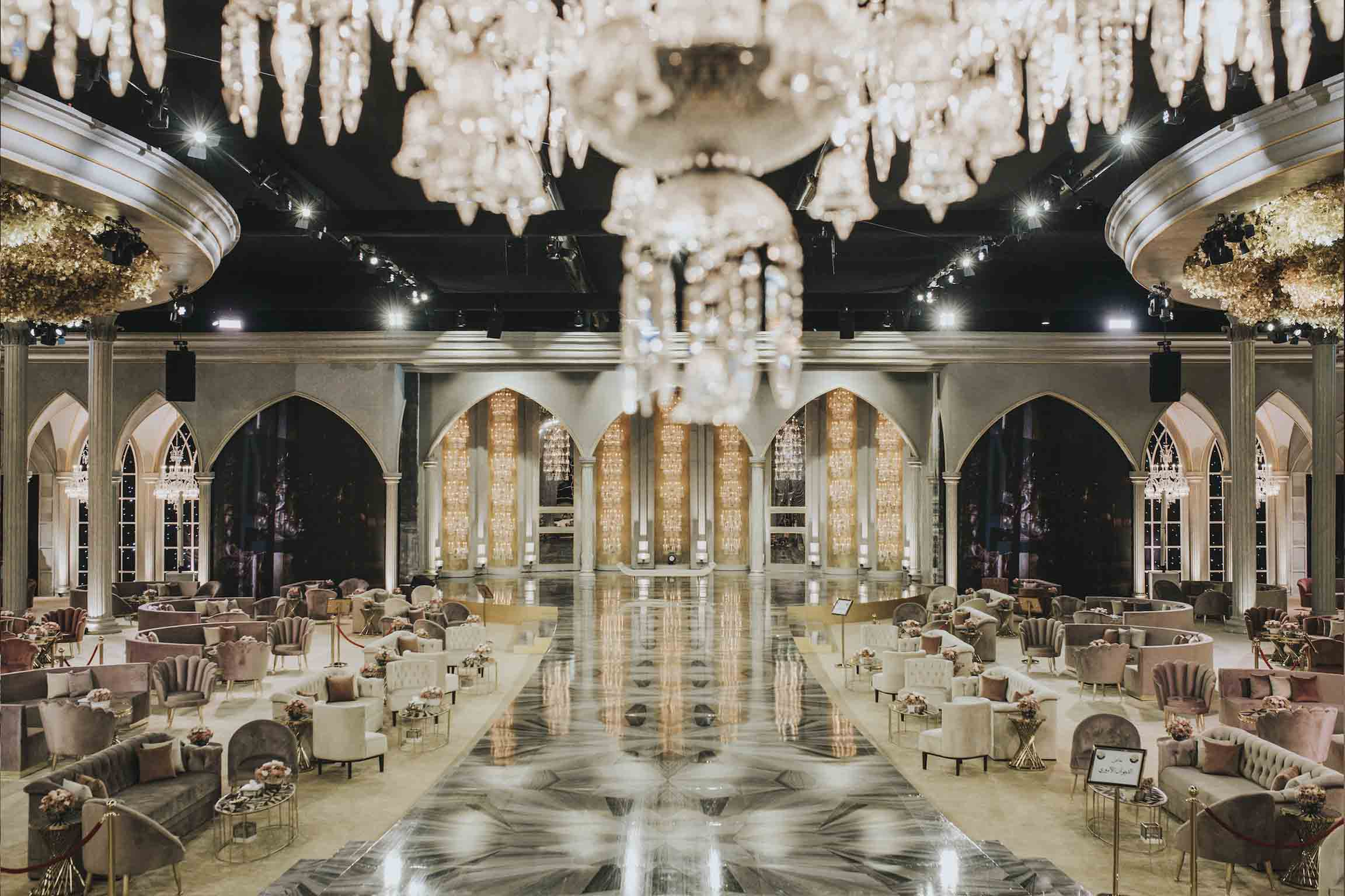 WEDDING - DATE: DECEMBER, 2018LOCATION: DOHA, QATARNUMBER OF GUESTS: 800