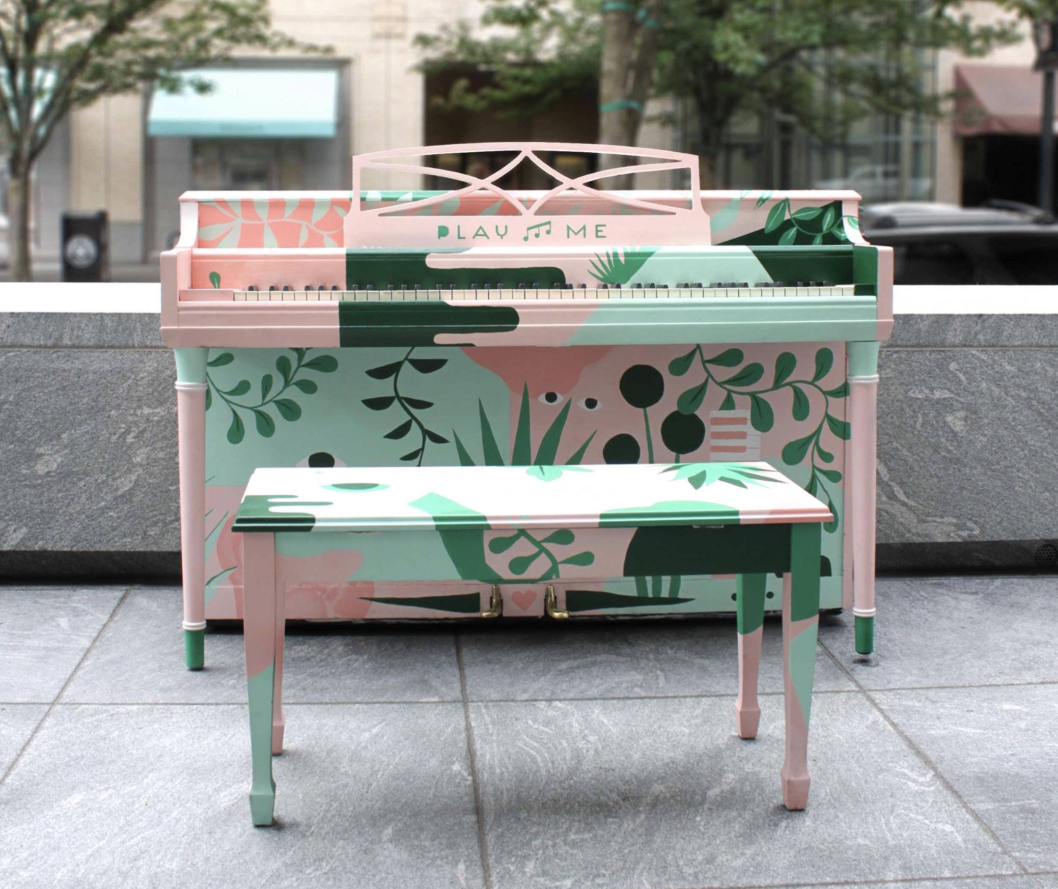 """Cassandra Swan 's 2016 piano, """"Diana"""""""