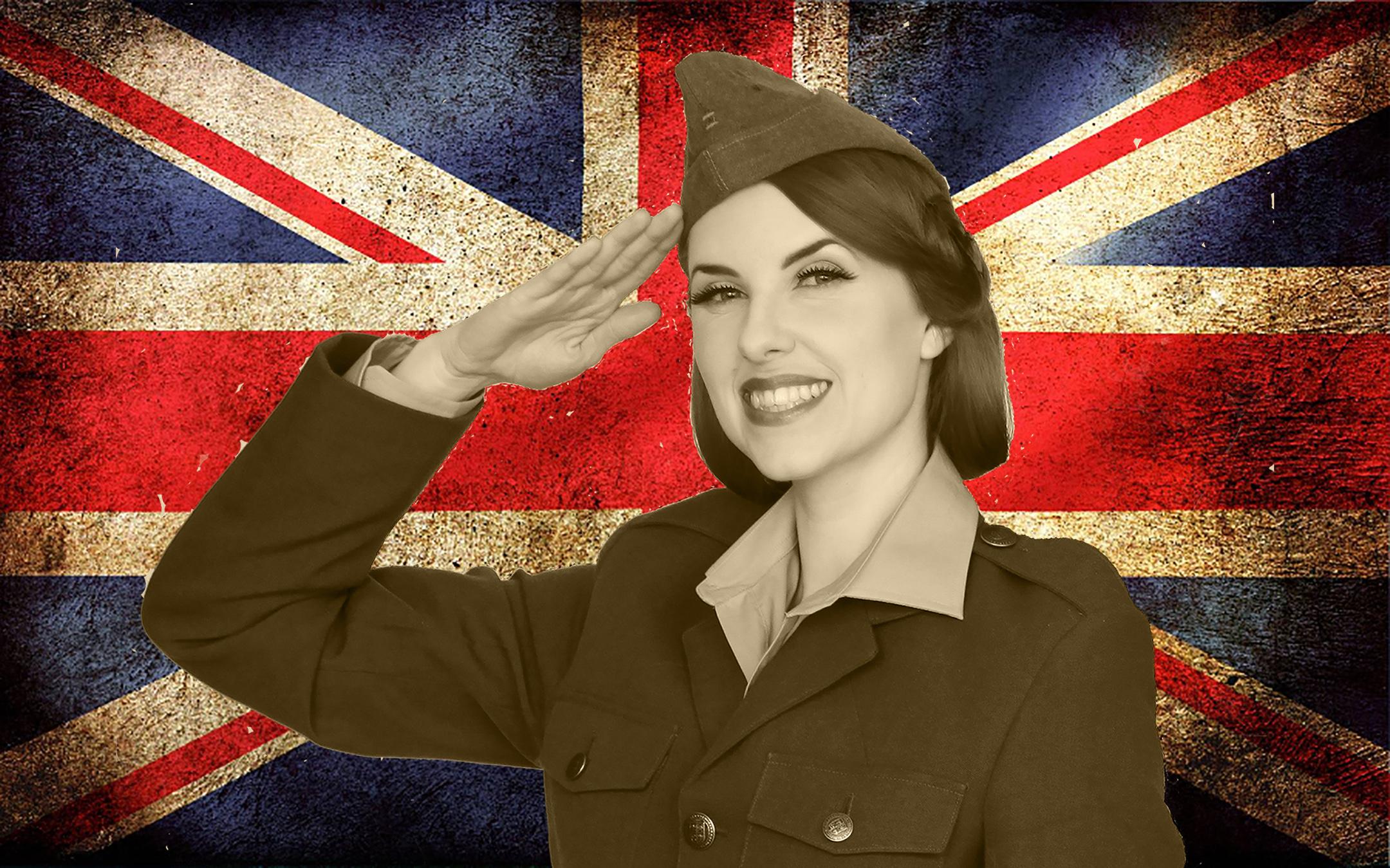 Bunny Nightingale Wartime Singer WW1 WW2