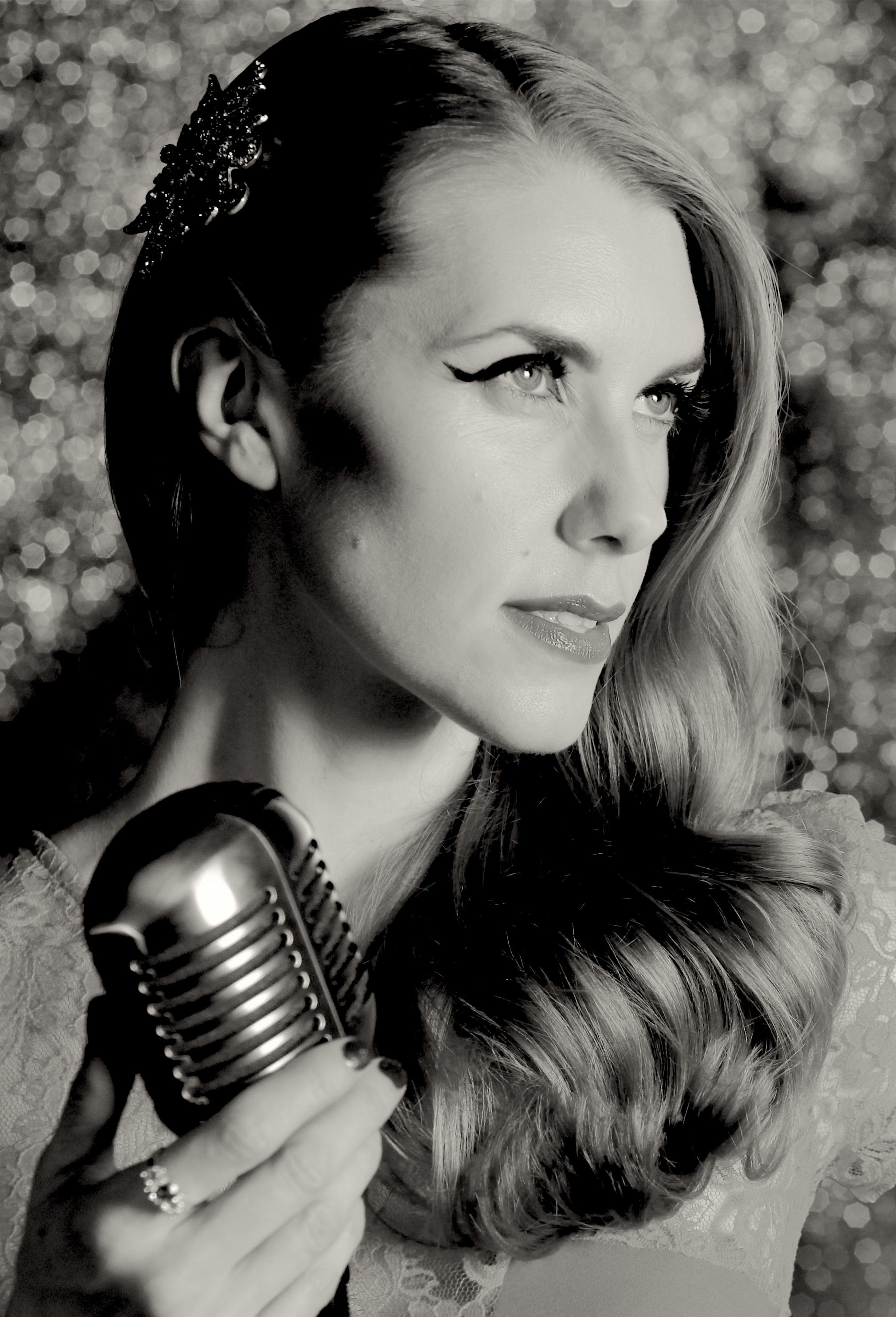 Bunny Nightingale Vintage Jazz Singer