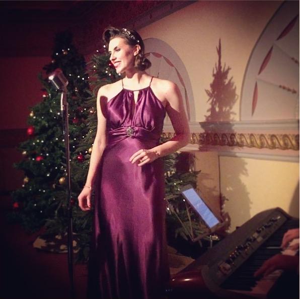 Bunny Nightingale Vintage Christmas event