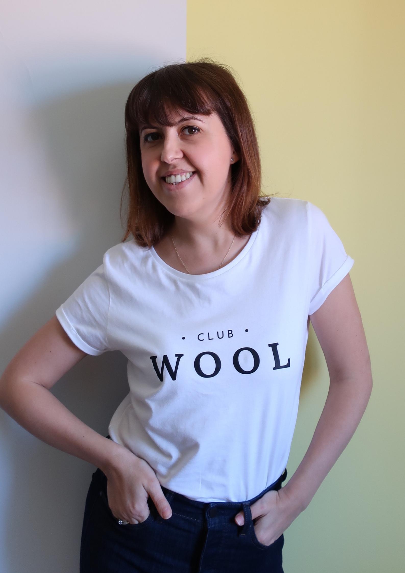 Bernie Torres est la Présidente du Club Wool.