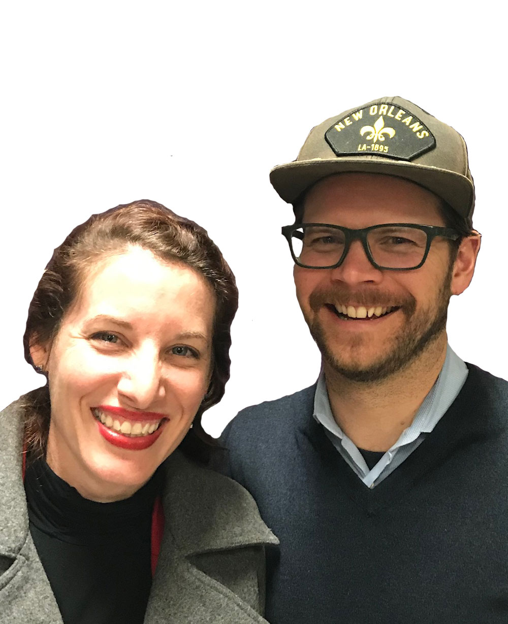 Rachel & KP Hammer - Zone GI love Mid-City and enjoy the porch culture we have! My husband and I are originally from Portland, OR but have been New Orleanians since 2007 and are committed to NOLA for the rest of our lives.