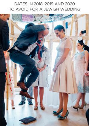 Jewish Wedding Dates to Avoid 2018, 2019, 2020