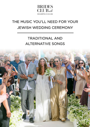 The music you'll need for your Jewish ceremony - traditional and alternative songs