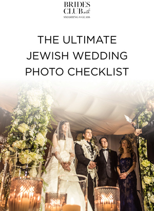 Ultimate Jewish Wedding Photo Checklist