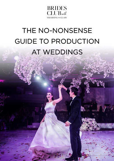 The No-Nonsense Guide to Production at Weddings