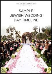 Sample Jewish Wedding Day Timeline
