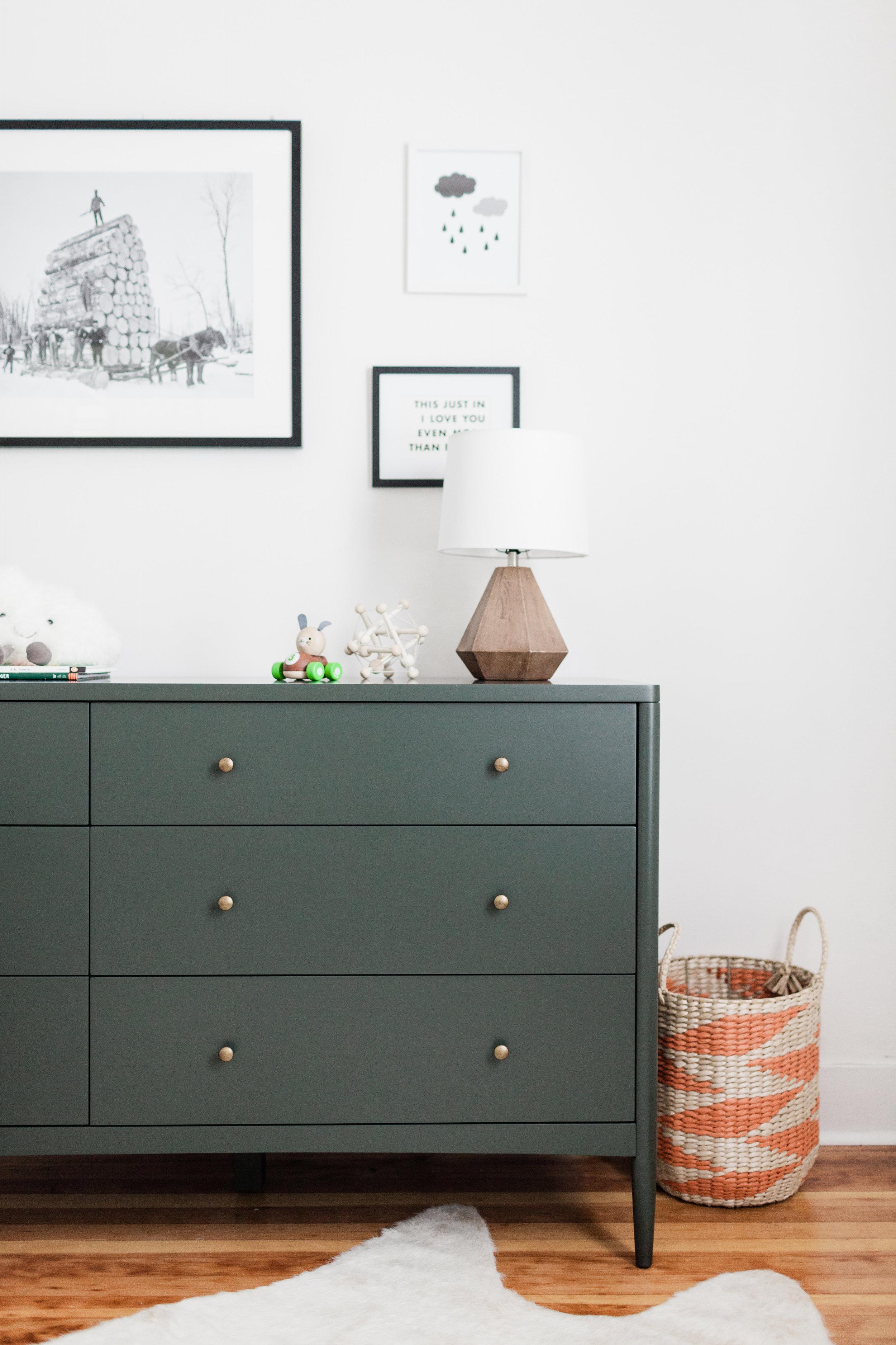 PNW Minimalistic Modern Nursery by Harper Rae Design Co