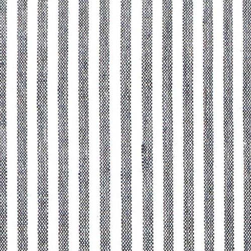 Caitlin Wilson Fabric in Black French Stripe