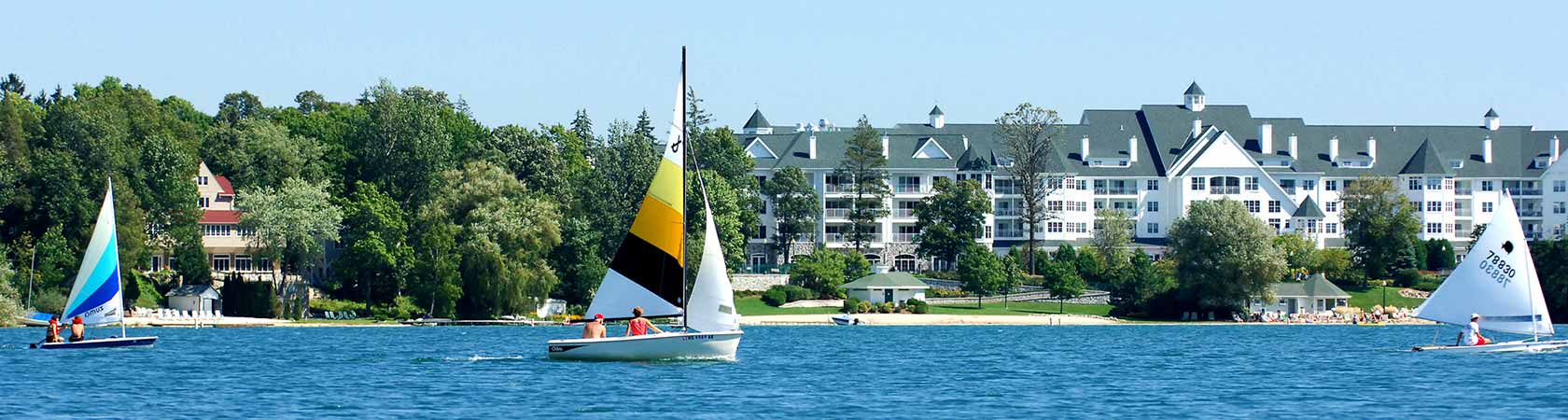 Osthoff Resort is located on tranquil Elkhart Lake in southeastern Wisconsin.