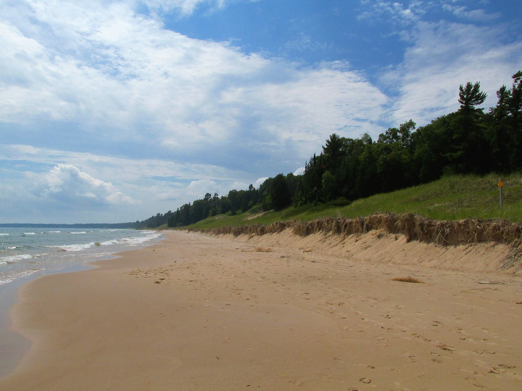 Whitefish Dunes State Park is just a short drive north of Sturgeon Bay.