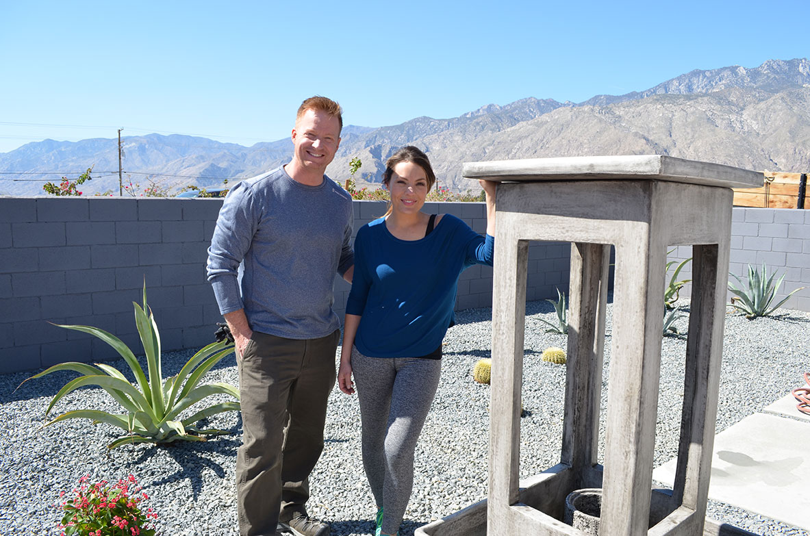 Eric and Lindsey, originally from Madison, now flip homes in Palm Springs. Their show,  Desert Flippers , is one of the most popular on HGTV.