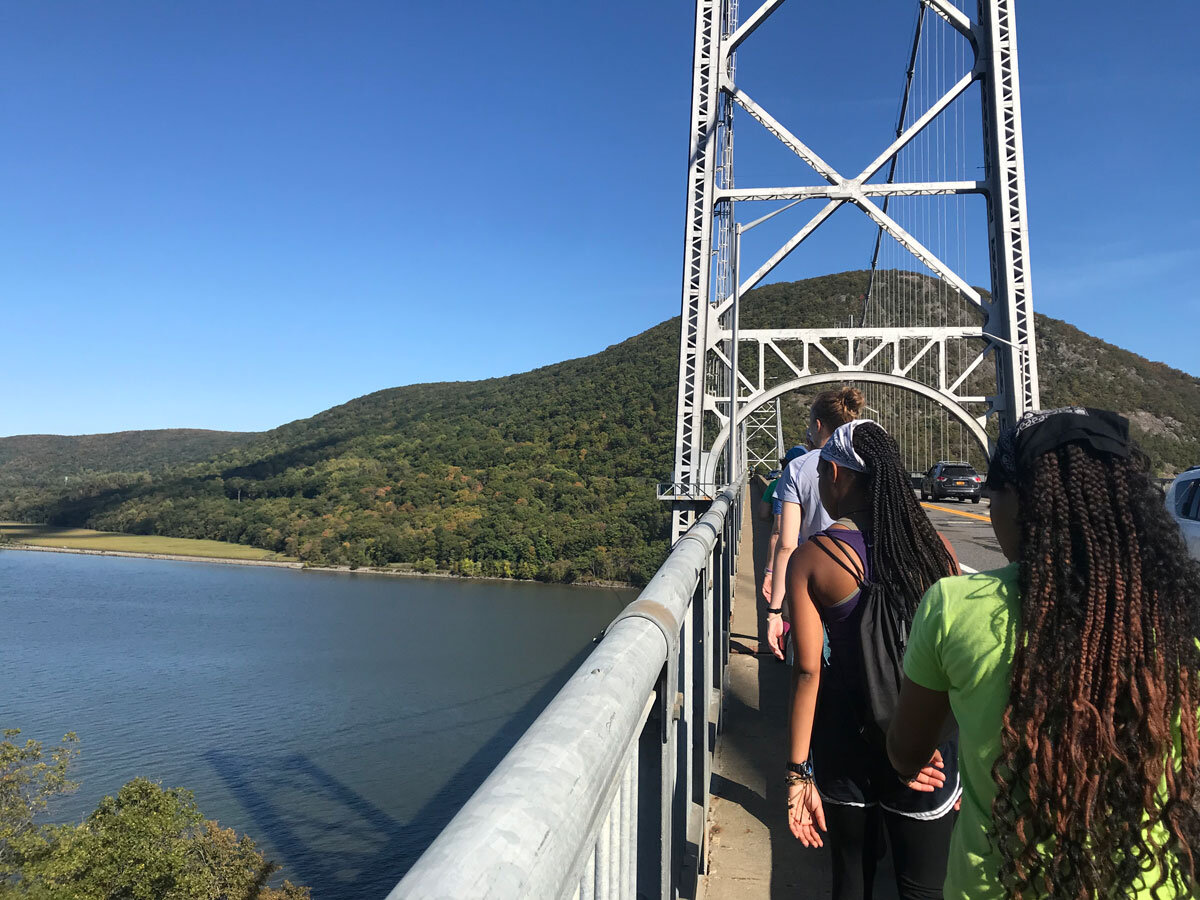 A Really High Suspension Bridge
