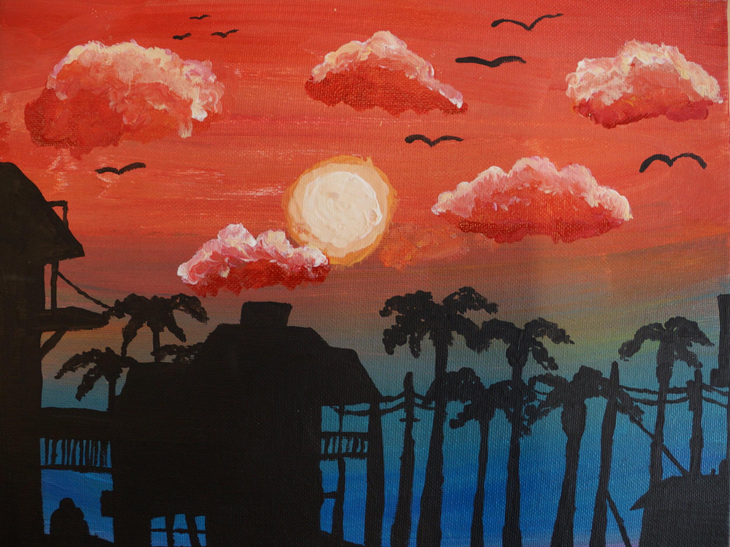 Cool Sunset by Sumaiyah Morris