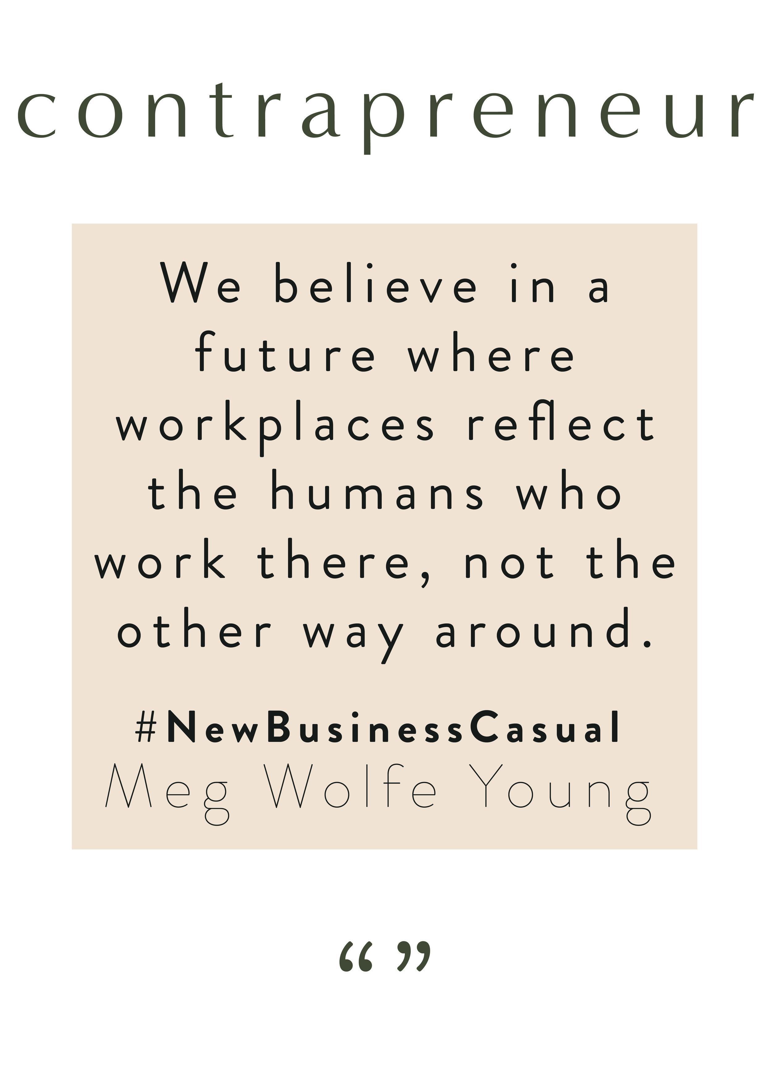 #NewBusinessCasual