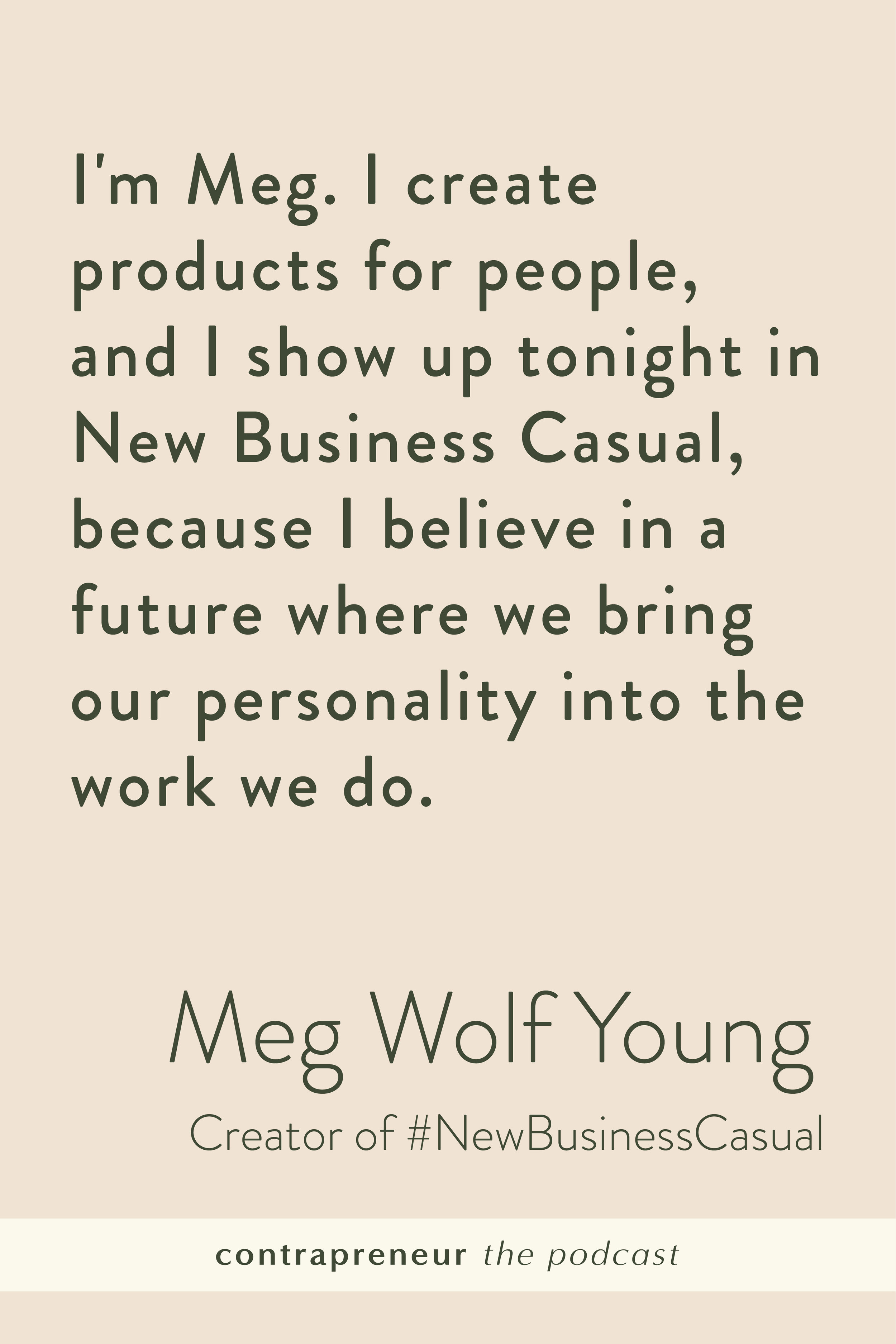 Contrapreneur The Podcast #NewBusinessCasual