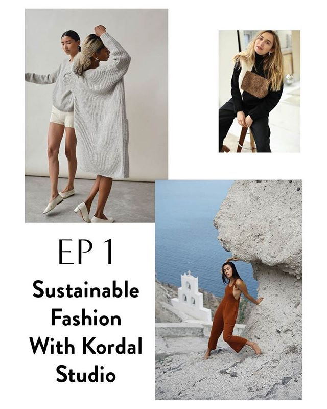 EP1 🎧⚡️Because I'm hearing a lot of you are starting there!⠀ ⠀ Mandy Kordal, founder and owner of @KordalStudio talks about sustainable clothing, alternative education, doing business in the modern NYC fashion industry and what success is. Kordal Studio's mission is to create garments in an ethical manner by paying workers a fair wage, designing garments that are not trend focused, and using natural and organic textiles whenever possible. Mandy makes some garments in her Brooklyn, NYC studio and collaborates with weavers in South America.⠀ ⠀ Mandy & I met when she was visiting California for the Varda Artist's Residency. Being accustomed to living in new places, I asked if she needed anything, or just wanted to meet up for company! She chose to go hiking in Marin with me. I got us SO lost. And there was a rattlesnake. But she still did this interview with me. Mandy is a all-around super human being. I hope you enjoy our conversation! 🌞