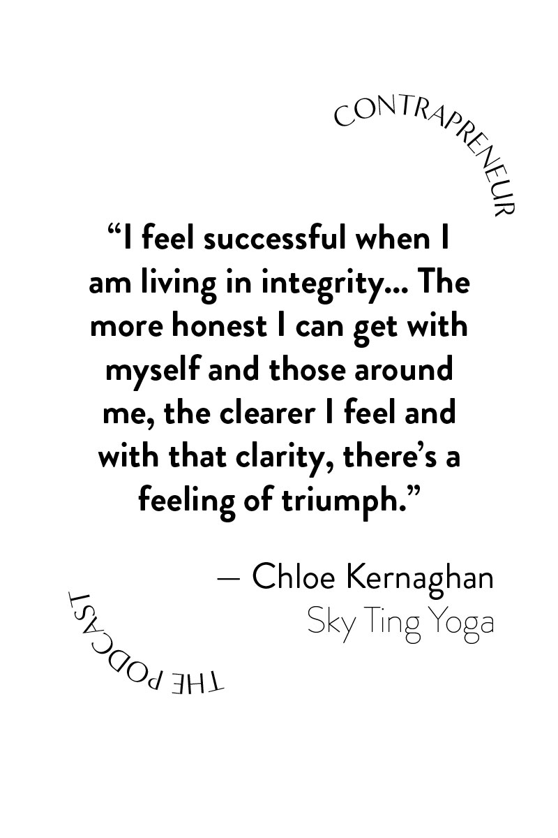 Contrapreneur The Podcast Interviews Sky Ting Yoga