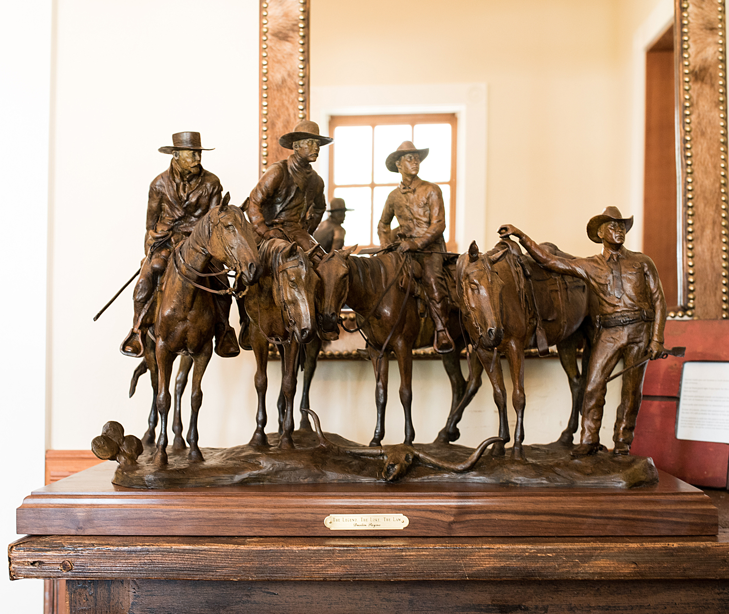 The Legend, The Lore, The Law, Western Art, Cowboy Art
