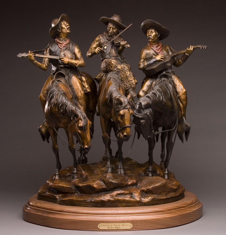 Chisholm Trail Blues, Cowboy Art, Cowboys on horses