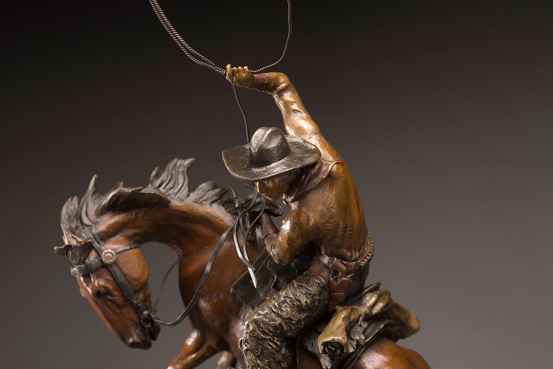 Spring on the Divide, Cowboy Art, Horse Art