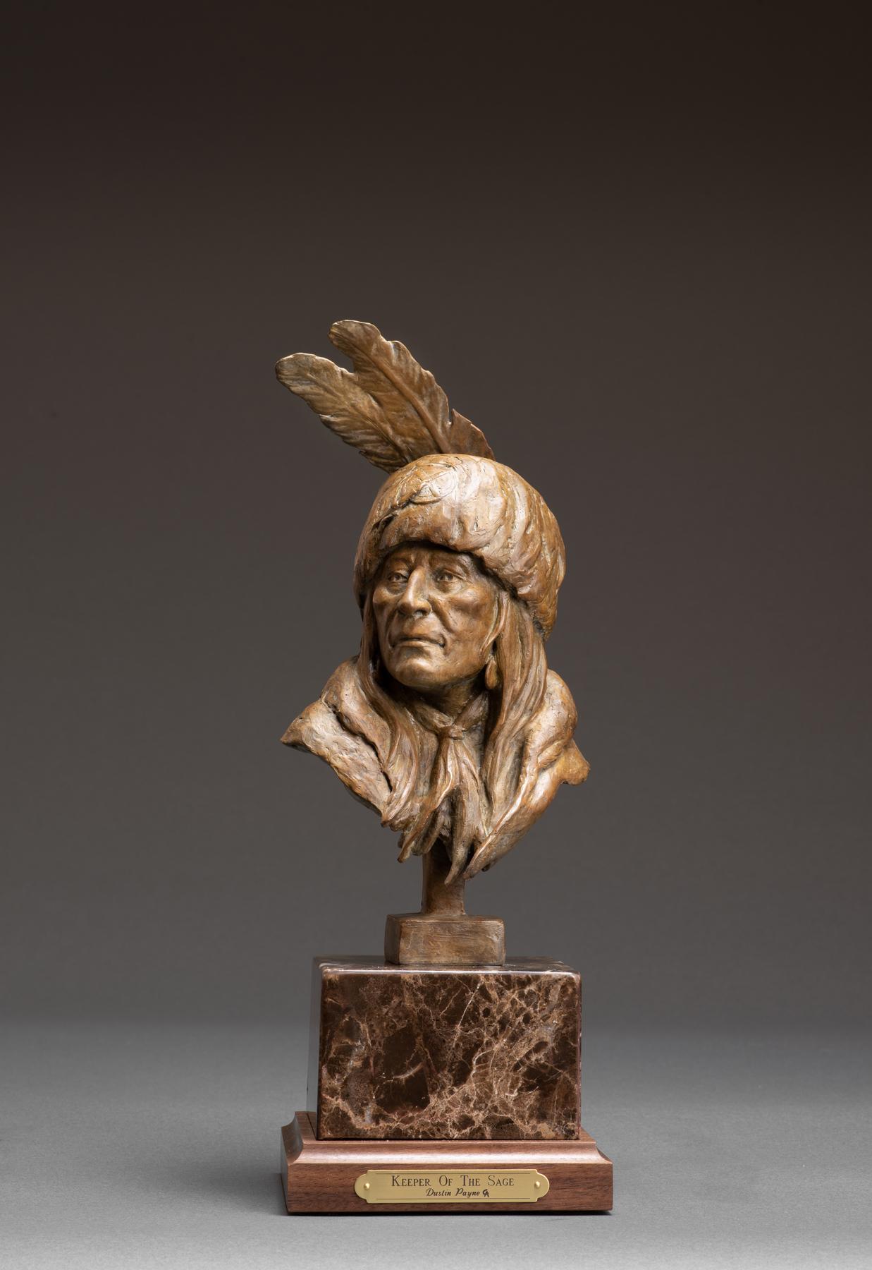 Keeper of the Sage | Western Art | Native American Art