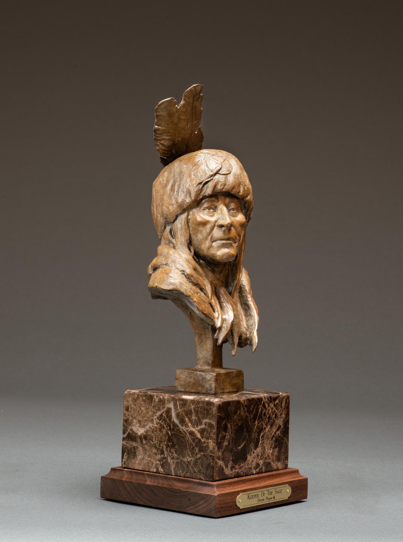 Keeper of the Sage   Western Art   Native American Art