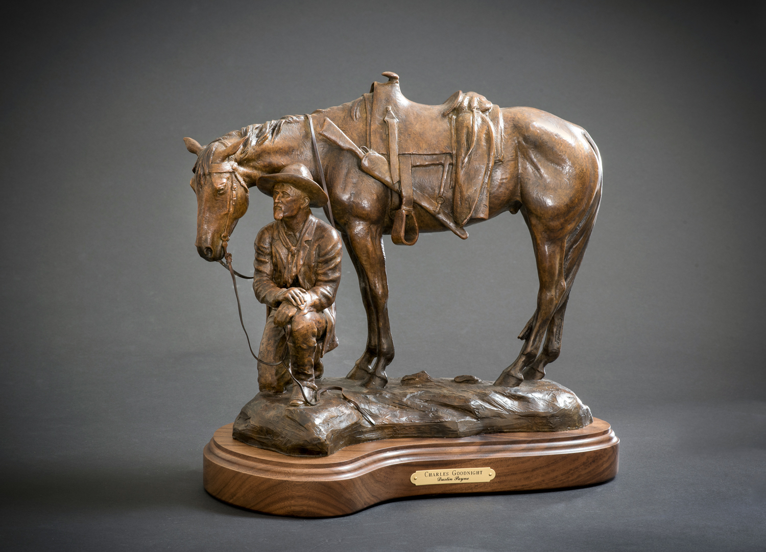 Father of the Trail & Charles Goodnight Life-size Monuments  Installation scheduled for Spring 2019