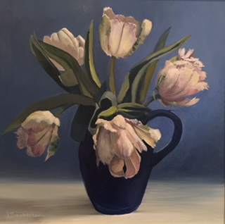French Tulips, 12in x 12in
