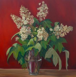 Oak Leaf Hydrangea II,36in x 36in