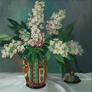 Oriental Vase, 24in x 24in
