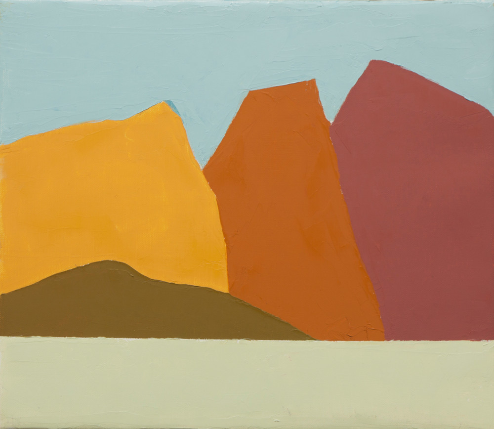 "Etel Adnan, ""Untitled"" (2014). Courtesy of the artist."