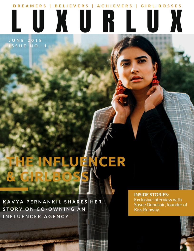 Luxur Lux Magazine Issue 1 -