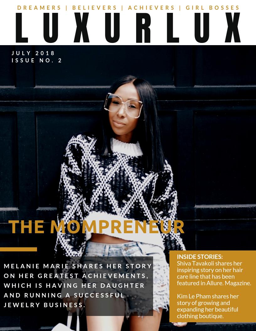 Luxur Lux Magazine Issue 2 -