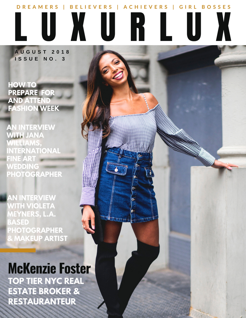 Luxur Lux Magazine Issue 3 -