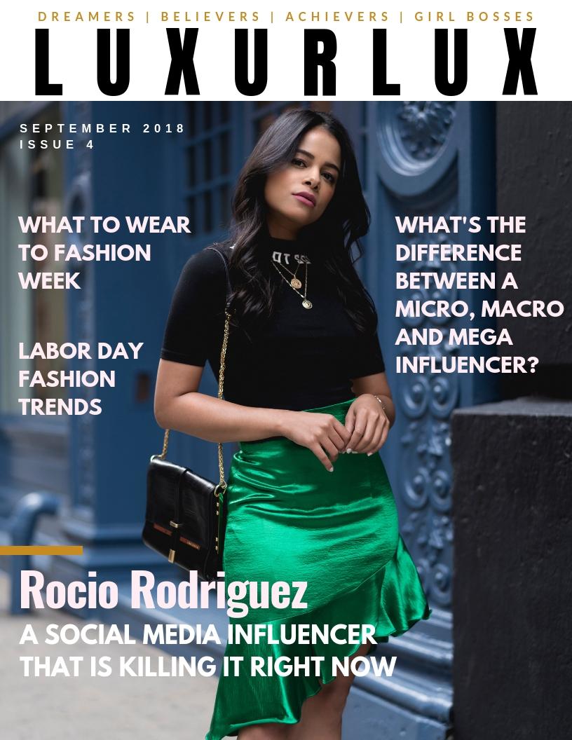 Luxur Lux Magazine Issue 4 -
