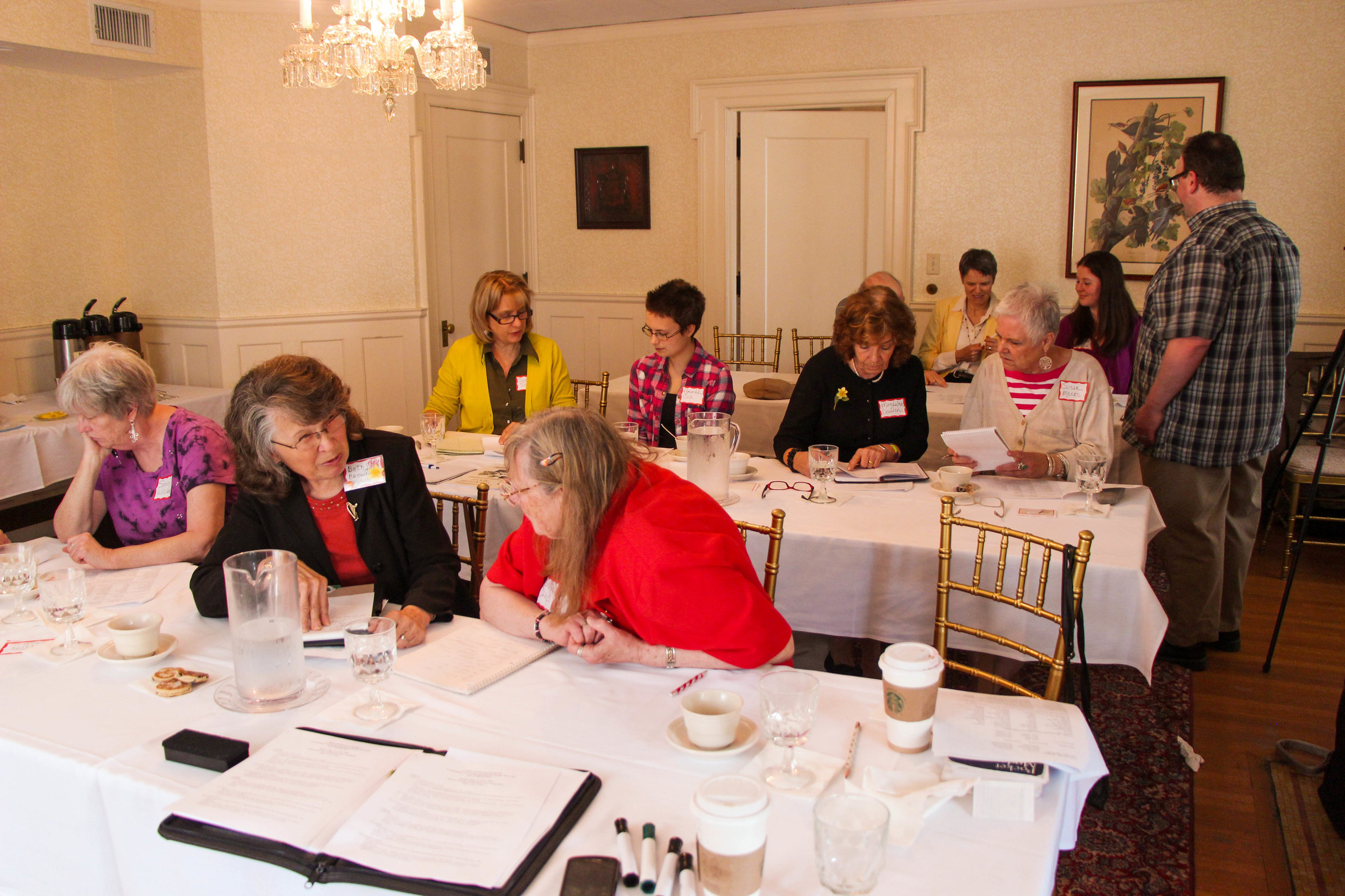 WSWNE sponsored Welsh classes in Hartford.
