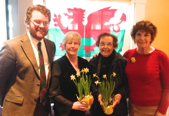Our speakers on St. David's Day.