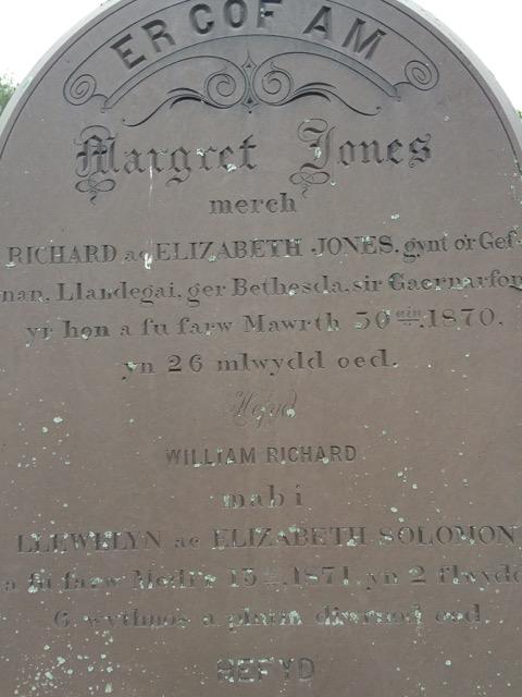 Jones Grave at Elmwood Cemetery in Granville, NY