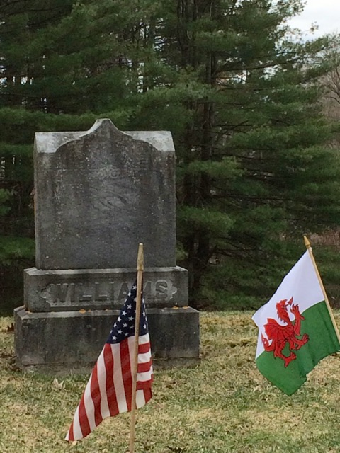 Williams Grave at Elmwood Cemetery, Granville, NY