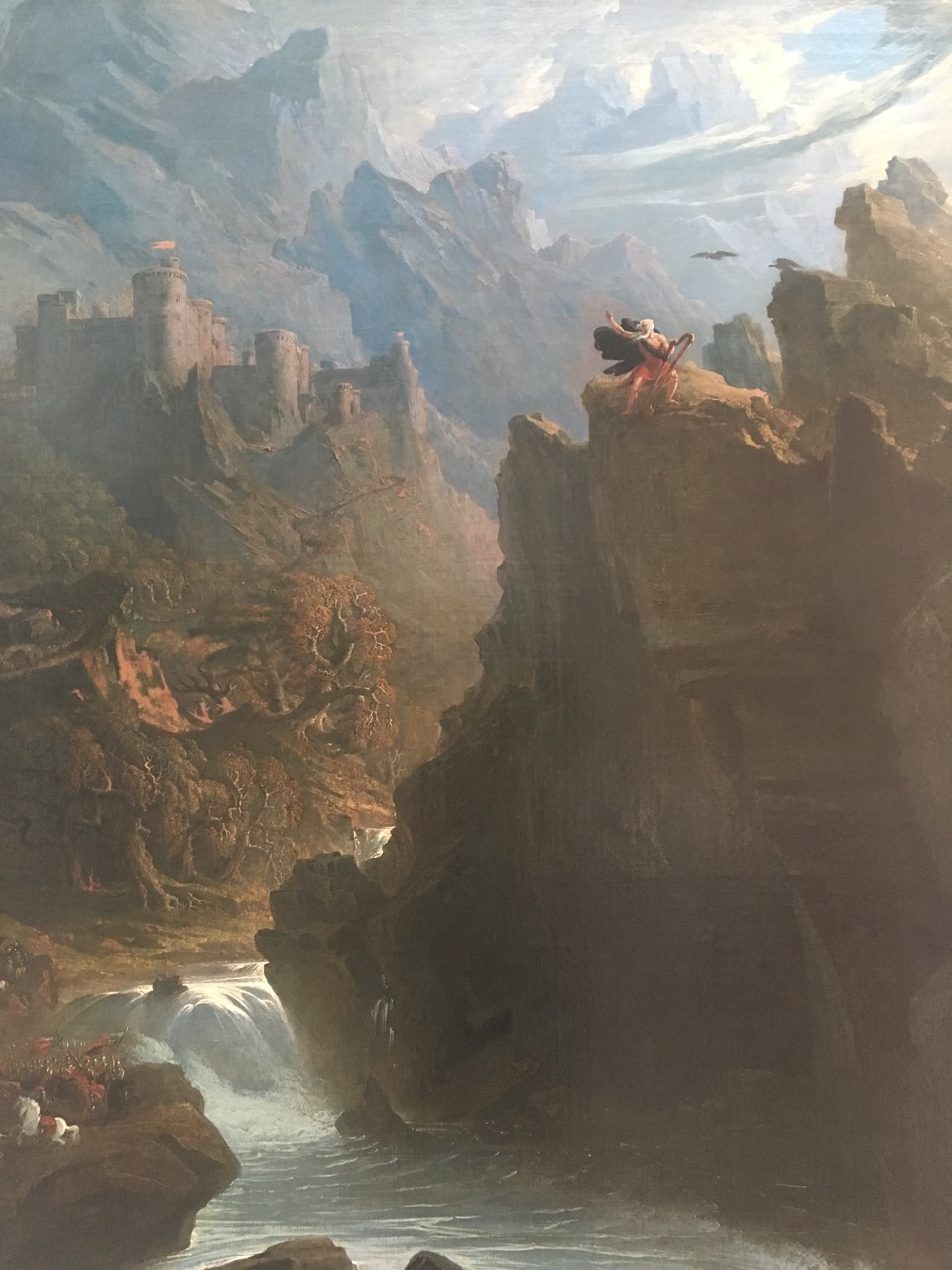 "John Martin (1789-1854) titled ""The Bard"""