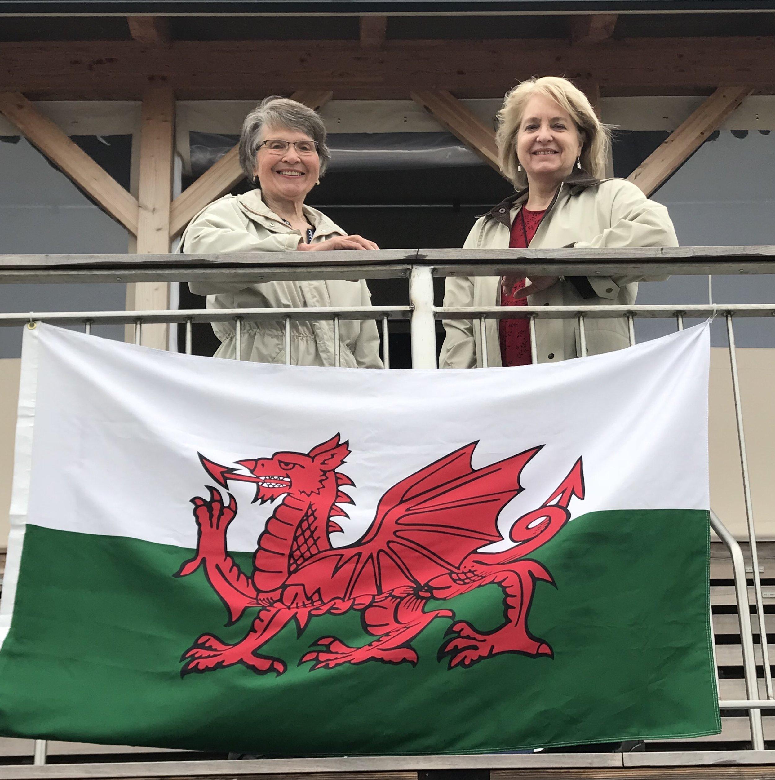 Beth Roberts Brown and Susan Davies Sit