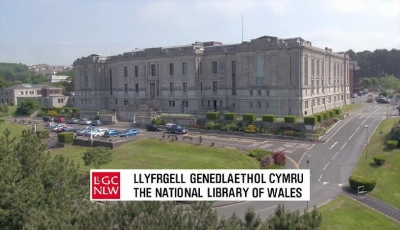 The National Library of Wales  (Llyfyrgell Genedlaethol Cymru) A mountain of knowledge of Wales and the world, based in Aberystwyth.