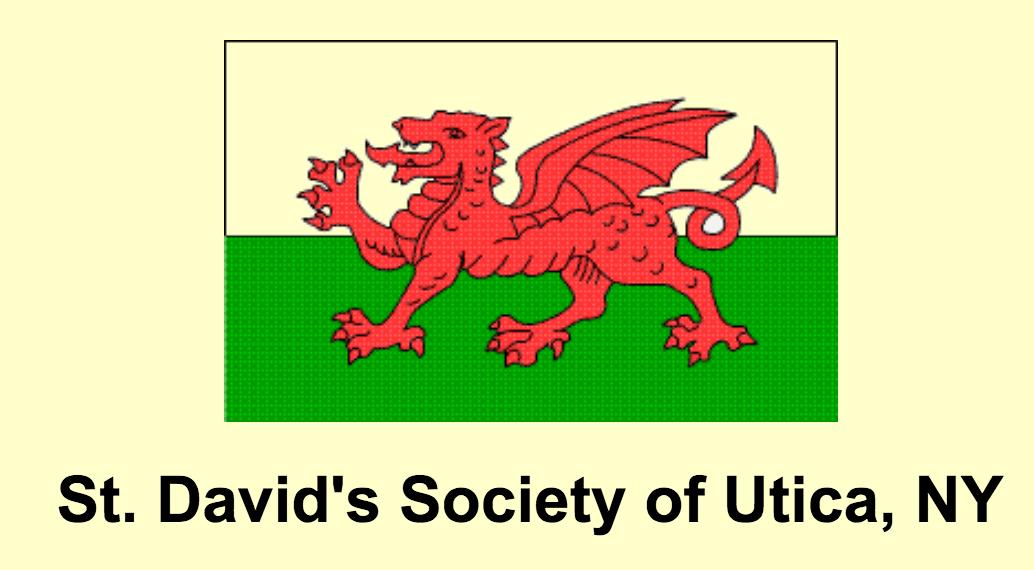 ST. DAVID'S DAY SOCIETY OF UTICA, NY image
