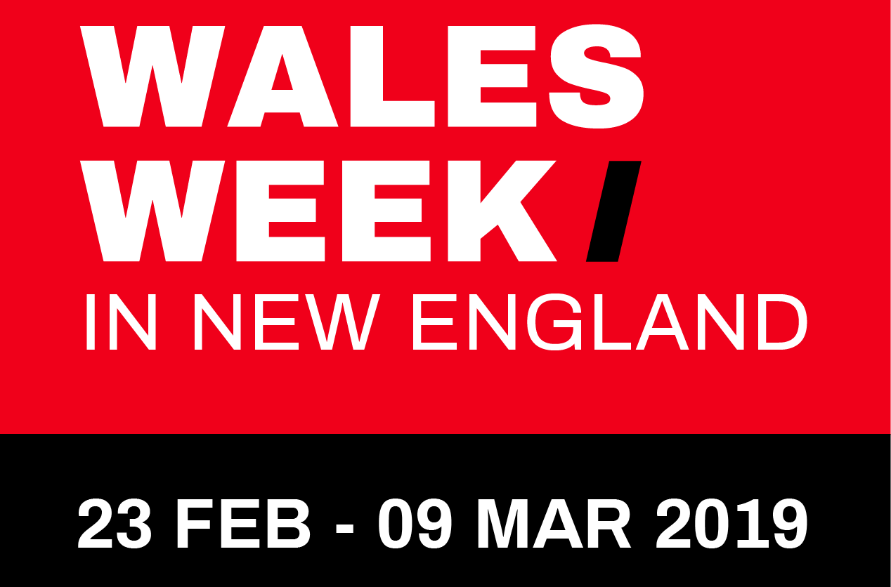 WALES WEEK in NEW ENGLAND logo