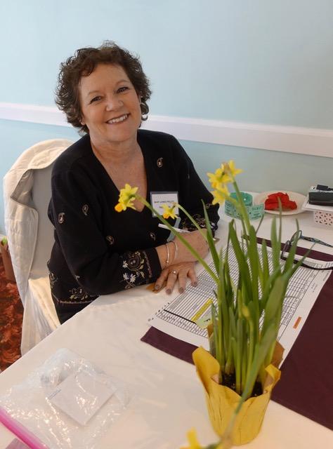 Treasurer Mary Jones Pallos