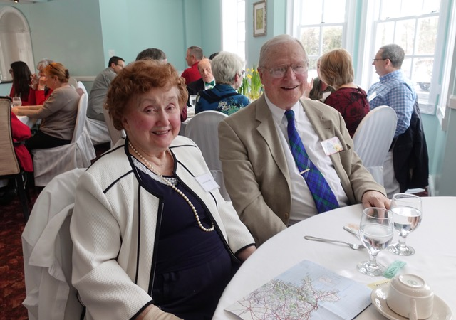Members Nancy and Bob Bolgard