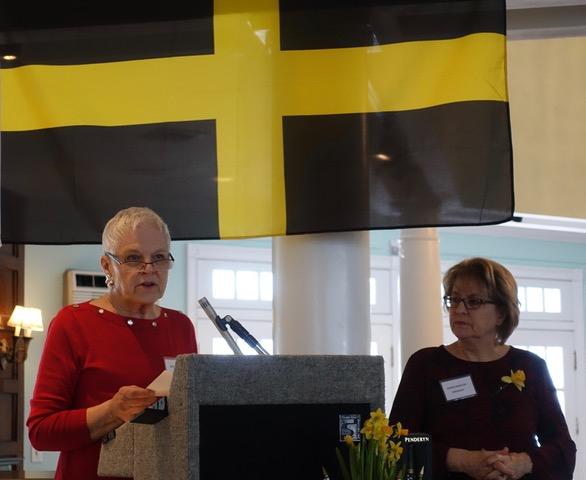 Susan Jenkins Meers reads the poem written by Wales' National Poet Ifor ap Glyn.