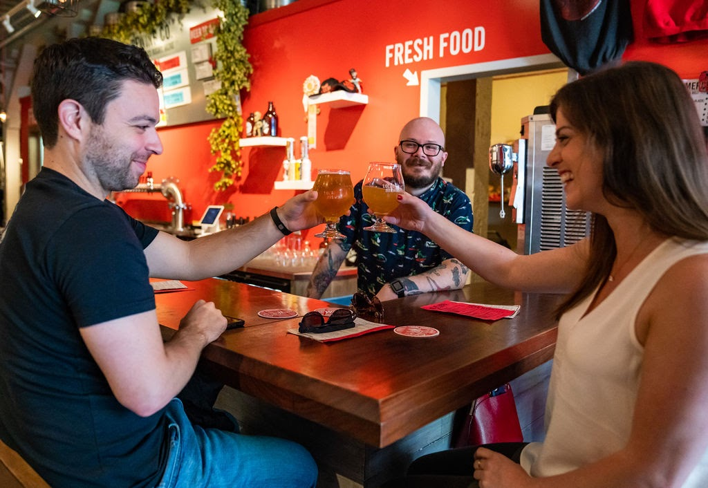 TASTE DOZENS OF Craft Beers INSIDE THE - LOCAL BREWING COMPANYA small batch brewery in San Francisco hand-crafting innovative and approachable brews.